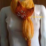 gatto foulard